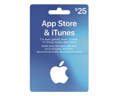 Image of product Incomm - $25 iTunes Gift Card