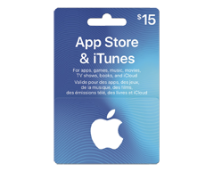 Image of product Incomm - $15 iTunes Gift Card