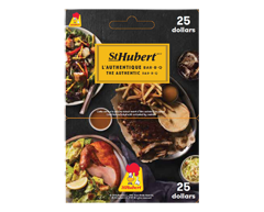 Image of product Incomm - $25 St-Hubert Gift Card