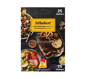 $25 St-Hubert Gift Card, 1 unit