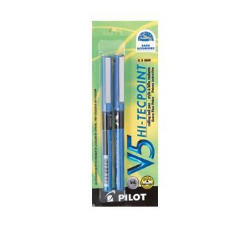 V5 Hi-Tecpoint Extra Fine Ball Pen, 2 units, Blue