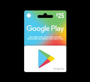 $25 Google Play Gift Card, 1 unit