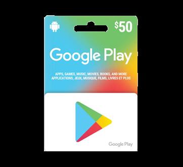 $50 Google Play Gift Card, 1 unit