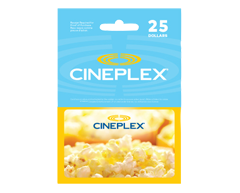 Image of product Incomm - $25 Cineplex Gift Card