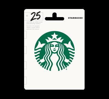 $25 Starbucks Gift Card, 1 unit