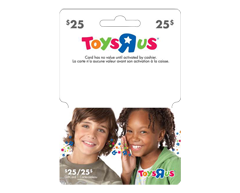 """Image of product Incomm - $25 Toys""""R""""Us Gift Card"""