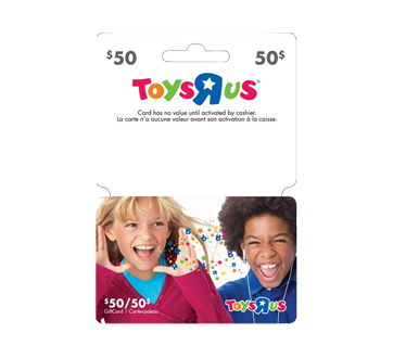 """carte cadeau toys r us $50 Toys""""R""""Us Gift Card, 1 unit – Incomm : Other gift"""