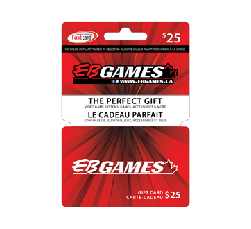 $25 EB Games Gift Card, 1 unit