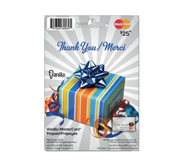 vanilla prepaid mastercard 25 1 unit - Mastercard Prepaid Card