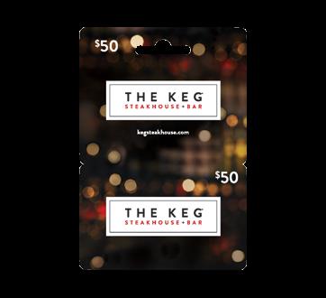 $50 The Keg Steakhouse Gift Card, 1 unit