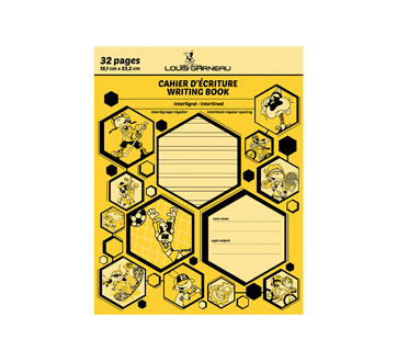 Small Exercise Book, 1 unit, Yellow