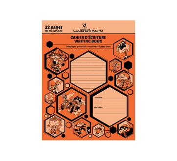 Image of product Louis Garneau - Small Exercise Book, 1 unit, Orange