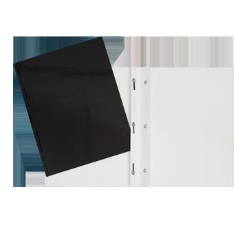Laminated Carton Portfolio, 1 unit, Black