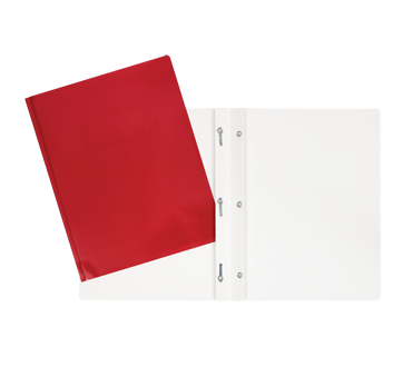 Laminated Carton Portfolio, 1 unit, Red