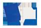 Thumbnail of product Geo - Laminated Carton Portfolio, 1 unit, Navy Blue