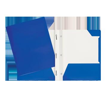 Laminated Carton Portfolio, 1 unit, Navy Blue