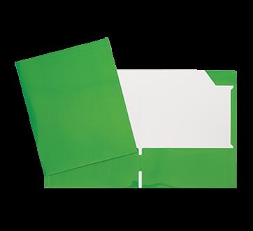 Laminated Carton Portfolio, 1 unit, Green