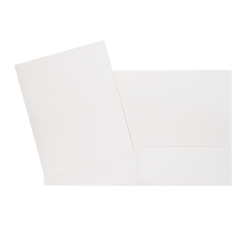 Laminated Carton Portfolio, 1 unit, White
