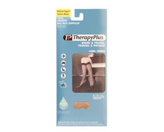 Image of product Therapy Plus - Medical Support Knee Length, 1 pair, 9-11 Beige