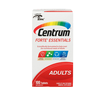 Image of product Centrum - Forte Tab Supplement, 100 units