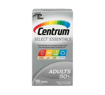 Image of product Centrum - Select Tab Supplement, 100 units