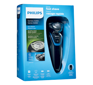 Shaver Series 5000 Dry Electric Shaver, 1 unit