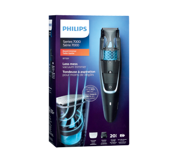 beardtrimmer series 7000 vacuum beard trimmer 1 unit philips electric razor jean coutu. Black Bedroom Furniture Sets. Home Design Ideas