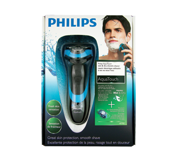 aquatouch shaver at752 20 philips gifts for him jean coutu. Black Bedroom Furniture Sets. Home Design Ideas