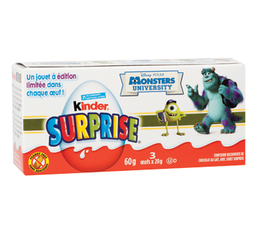 Image 2 of product Ferrero Canada Limited - Kinder Surprise, 3 x 20 g