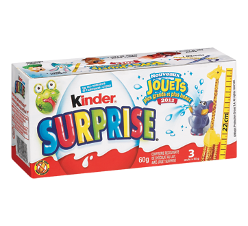 Image 3 of product Ferrero Canada Limited - Kinder Surprise, 3 x 20 g