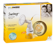 Image of product Medela - Swing Single Electric Breast Pump