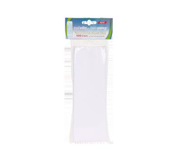 Precut cotton waxing strips, 100 units