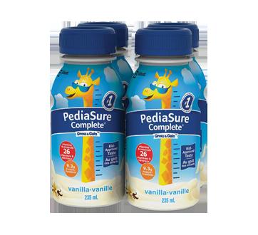 Image of product PediaSure - Pediasure Complete Nutritional Supplement, 4 x 235 ml, Vanilla