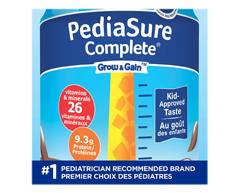 Image of product PediaSure - Pediasure Complete Nutritional Supplement, 4 x 235 ml, Chocolate