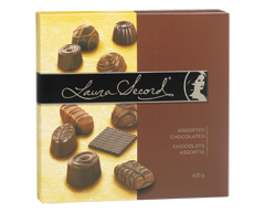 Image of product Laura Secord - Assorted Chocolates, 400 g
