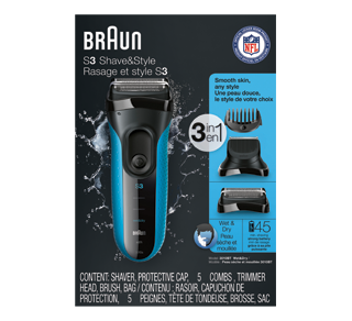Series 3 Shave & Style Shaver, 1 unit