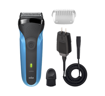Image 2 of product Braun - Series 3 Wet & Dry Shaver, 1 unit, Blue