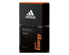 Image of product Adidas - Deep Energy Eau de Toilette, 50 ml