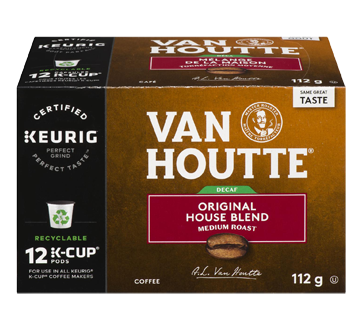 Decaffeinated Original House Blend, K-cup, 12's