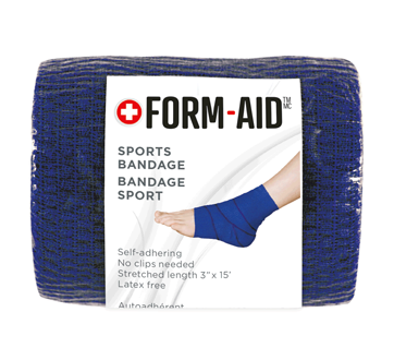 Image of product Formedica - Sport Bandage, 1 unit, Stretched length 10 cm x 4.6 m, Blue