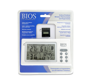 Thermometer/Hygrometer, 1 unit
