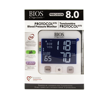 Image of product BIOS - Protocol Blood Pressure Monitor, 1 unit