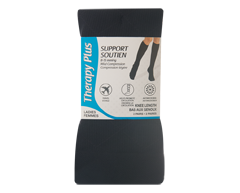 Image of product Therapy Plus - Grad-Compression Argyle Knee Length Women, 2 pairs, 9-11 Black