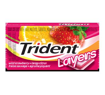 Trident Layers Strawberry & Citrus, 1 unit