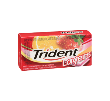 Image 2 of product Trident - Trident Layers Strawberry & Citrus, 1 unit