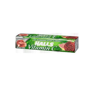 halls vitamin c pomegranate citrus 9 units halls lozenge and