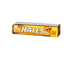 Image of product Halls - Halls Honey Lemon,