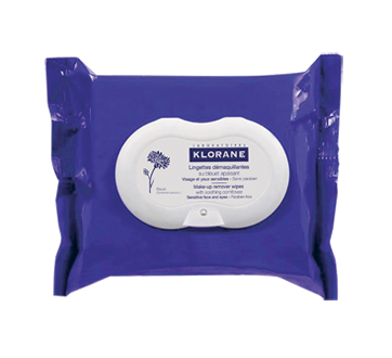 Soothing Make-Up Removal Wipes, 100% Biodegradable Fibres, 25 units
