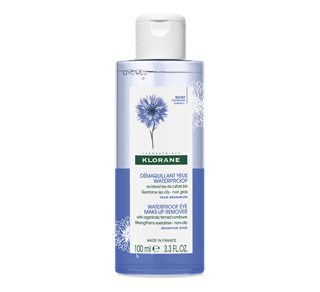 Waterproof Eye Make-Up Remover with Soothing Cornflower, 100 ml