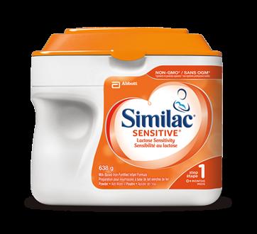 Image of product Similac - Sensitive Lactose Sensitivity Baby Formula Powder, 638 g
